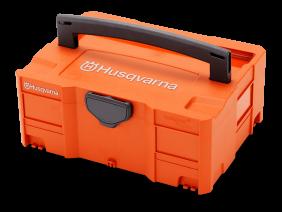 Husqvarna komplet akumulator, polnilec in zabojnik Semi-Pro 1